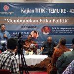 Etika Politik Untuk Perdamaian dan Kebhinekaan